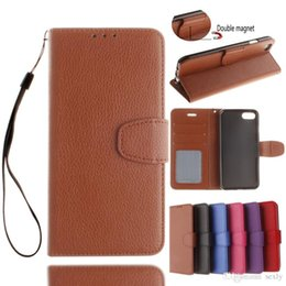 Luxury Credit Card Iphone Canada - For Luxury PU Flip Wallet Leather case for iPhone 7 Case Cover With Credit Card Holder 6 color iPhone 5S iPhone 6 6S Plus iPhone 7 Plus Free