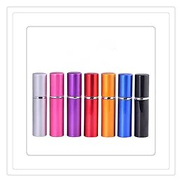 Wholesale Perfume Bottle Aluminium Anodized Compact ml Perfume Aftershave Atomiser Atomizer Fragrance Glass Scent Bottle