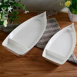 A5 Melamine Dinnerware Dinner Plate 26*12.3*3.1cm Boat Ship Shape Plate Western Restaurant Tableware ZA4499 & Restaurant Dinner Plates Wholesale Online | Restaurant Dinner Plates ...