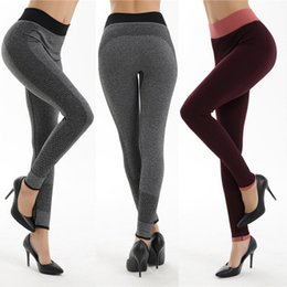$enCountryForm.capitalKeyWord NZ - Women Fashion Tight Sportwear Nice Leggings High Elastic Thin Sports Yoga Pants Fitness Running Long Trousers Legging