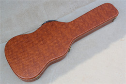 Brown guitar case online shopping - Specially Customized Hard Case Especially used for ST TL Guitars Brown Color Can be Customized as Request