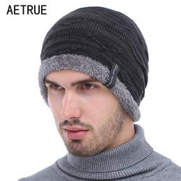 $enCountryForm.capitalKeyWord NZ - Knitted Hat Skullies Beanies Men Winter Hats For Men Women Bonnet Fashion Caps Warm Baggy Soft Brand Cap Plain Beanie Mens Hat