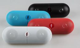 Mini Mp3 Music Box Canada - Pill XL Bluetooth Mini Speaker Protable Wireless Stereo Music Sound Box Audio Super Bass TF Slot Hands-free MP3 Player With b f LOGO E-YX