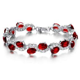 Green Day Charm Bracelet Canada - Charm bracelet women's luxury white gold bracelets bangles fashion green crystal jewelry valentine's day gift wholeale DS926