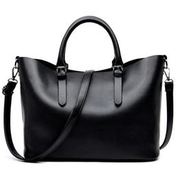 b1ab620528 Bolso Mujer Negro 2016 Fashion Hobos Women Bag Ladies Brand Leather Handbags  Spring Casual Tote Bag Big Shoulder Bags For Woman