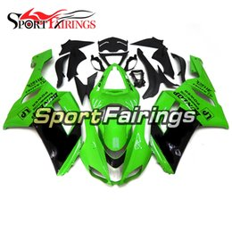 kawasaki body kits Australia - Complete Fairing Kit For Kawasaki ZX6R ZX-6R Year 07 08 2007 - 2008 Sportbike ABS Motorcycle Fairing Kit Bodywork Body Kit Green Black