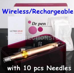 $enCountryForm.capitalKeyWord Australia - Electric Derma Pen ULTIMA M5 Dr.pen Wireles Anti Aging with 10 pcs Micro Needles