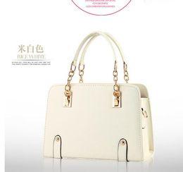 $enCountryForm.capitalKeyWord Canada - NEW 17 colors women leather tote handbag fashion Brand designer candy color casual shoulder bag for women