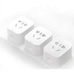 $enCountryForm.capitalKeyWord Canada - Smart home Wireless Power Plug with uk eu au us Socket WiFi Remote Control Switch with phone Original xiaomi plug Free shipping