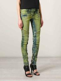 $enCountryForm.capitalKeyWord Canada - Women Ribbed Zip Moto Skinny Denim Jeans Brand New Sz 26 27 28 29 30