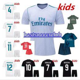 5a04015e4b8 Discount goalkeeper soccer jersey kid 2017 2018 kids Real madrid soccer  Jerseys New 17 18 RONALDO