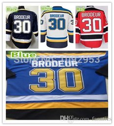 $enCountryForm.capitalKeyWord Canada - 2016 Best St.Louis Ice Hockey #30 Martin Brodeur Jerseys Team Color Blue White Red 100% Polyester Brodeur Hockey Shirts Cheap
