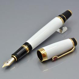 Топ-класс Bohemies Black Classical Fountain Pen с 4810 Nib Diamond Inlay Clip Clip Monte Branding Написание чернил ручки и Германия Серийный Nunber на Распродаже