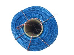 China Wholesale-10mm x 50meters winch rope for ATV UTV electric winch 4x4 off road accessories free shipping supplier rope for winch suppliers