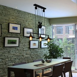 Discount Pulley Pendant Lights Kitchen Kitchen Rise U0026 Fall Pulley Pendant  Lights Edison Pendant Lamp Retro