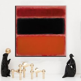 rothko paintings Australia - ZZ174 abstract color canvas art mark rothko canvas oil art painting wall pictures for living room bedroom decoration unframed