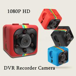 SQ11 мини камеры видеокамеры 1080P HD Спорт камеры DVR мини DVR ночного видения DV обнаружения движения видеомагнитофон с розничной коробке