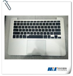 Touchpad For Laptop Canada - Laptop 2013 Topcase Assembly US keyboard and Backlight with Battery and touchpad  D Bottom case For Mac book pro retina A1502 2013 2014