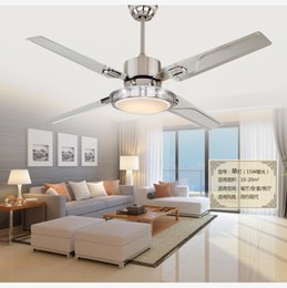 $enCountryForm.capitalKeyWord NZ - LED ceiling fan lights restaurant bedrooms modern fan lamps ceiling fans remote control simple fashion stainless iron leaves