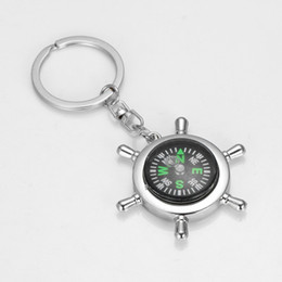 $enCountryForm.capitalKeyWord NZ - Fashion Accessories High rudder compass keychain compass Mini compass King ring pocket Outdoor Gadgets Hiking & Camping Outdoor Gear