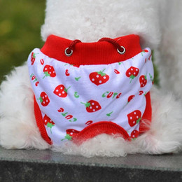 $enCountryForm.capitalKeyWord Canada - Fashion Kawaii Pet Puppy Cotton Tighten Strap Briefs Sanitary Pet Dog Underwear Diapers Physiological Pants Shipping