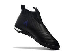 Discount ic packs 2018 original ace 17 indoor soccer cleats ACE Tango 17 Purecontrol TF IC football boots turf soccer shoes for Turbocharg