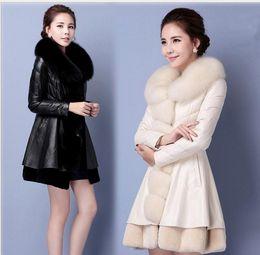 $enCountryForm.capitalKeyWord NZ - Free shipping hot selling new style fashion Fur sheep skin fox fur coat and long female Women's coat