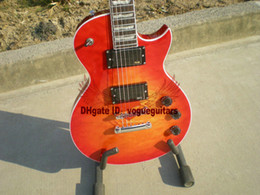 Solid Body Electric Guitar Cherry Canada - Classic Custom Shop Cherry Electric Guitar options Free Shipping From China HOT
