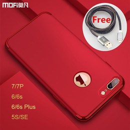 Coque Iphone Luxury NZ - Fashion Iphone 7 Plus Case Luxury Protection Mofi for 6s 7 Plus Cases Red for 5s Se Cover for Phone 7 Cases Capa Coque