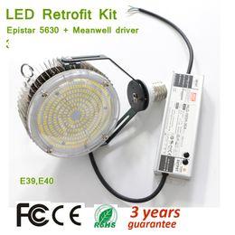 $enCountryForm.capitalKeyWord Australia - 150W Led Retrofit Kits for Wall Pack,E39 E40 Lampholder Parking Lot Light Fixture,5000K 18000lm,450 Watt HID MH; HPS Replacement