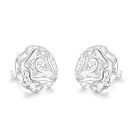 $enCountryForm.capitalKeyWord UK - Special Offer 15mm Rose Flower Charm Earrings Ear Studs in 925 Sterling Silver