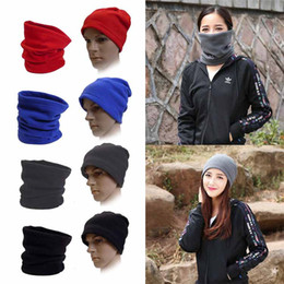 $enCountryForm.capitalKeyWord NZ - 3 in 1 Multi-Function Scarf Neck Warmer Face Mask Hat Winter Skiing Cycling Warm Beanie Men Women Sport Cap Factory Wholesale