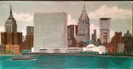 $enCountryForm.capitalKeyWord NZ - Framed 1965 New York City,Pure Hand Painted CITY VIEWS Art Oil Painting Canvas.Multi sizes Available