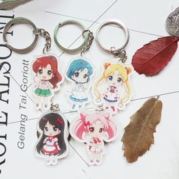 $enCountryForm.capitalKeyWord Canada - 5pcs Cute Japanese anime dhl ems 5 styles Anime Cartoon Sailor Moon Venus Jupiter Mars Mercury keychain key chain key ring Soft dolls