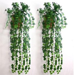 $enCountryForm.capitalKeyWord Canada - Wholesale- (mix order)7.5feet Artificial Ivy Leaf Garland Plants Vine Fake Foliage Flowers Home decor JE083