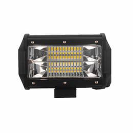 Wholesale Trailer Lights Australia - Offroad 5INCH 72W LED WORK LIGHT BAR FLOOD LIGHT 12V CAR TRUCK SUV BOAT ATV 4X4 4WD TRAILER WAGON PICKUP DRIVING LED LAMP