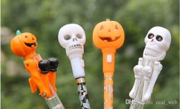 $enCountryForm.capitalKeyWord NZ - DHL or eub Skull Halloween fun funny pen gift boxing student stationery Supplies office Pens for school IN STOCK