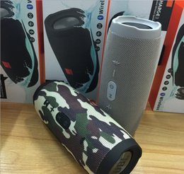 New Camouflage Frete grátis Nice Sound Charge 3 Bluetooth alto-falante ao ar livre Speaker Mini Speaker Waterproof Speakers