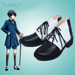 $enCountryForm.capitalKeyWord Canada - Wholesale-Black Butler Ciel Phantomhive Cosplay Shoes Boots Professional Handmade ! Perfect Custom for You !