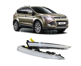 $enCountryForm.capitalKeyWord Canada - Auto-Tech Daytime Running Light ,light guide LED DRL kit For Ford ESCAPE   Kuga 2013 2014 2015