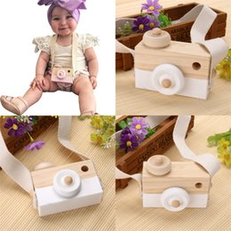 $enCountryForm.capitalKeyWord Canada - Wholesale- New Baby Kids Wood Camera Toys Children Fashion Clothing Accessory Safe And Natural Toys Birthday Educationa Toy Gift SA891777