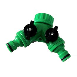 $enCountryForm.capitalKeyWord NZ - garden hose fitting two way valve adaptor tap quick coupling faucet connector free shipping