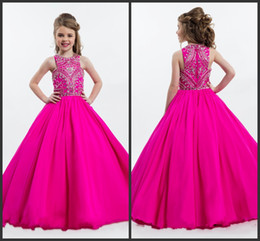 $enCountryForm.capitalKeyWord Canada - Nationals Interview Dresses Jewel Neckline Sleeveless Crystals Beadings Zipper Back Pageant Dresses Girls Sequins Beading Girls Formal Gowns