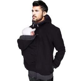 888956260 Papá ropa de invierno de otoño bebé portador de algodón de canguro prendas  de vestir exteriores