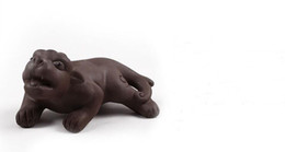 $enCountryForm.capitalKeyWord UK - new style yixing handmade purple clay tea pets elegant home decoration lucky animal about 5cm*9cm t66