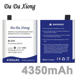 lenovo z1 UK - Da Da Xiong 4350mAh BL255 BL-255 Battery for Lenovo ZUK Z1 Battery