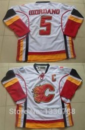 $enCountryForm.capitalKeyWord Canada - 2015 New Mens Calgary Flames Hockey Jerseys #5 Mark Giordano Captain White Away Premier Stitched Sport Jerseys Shirt Hot Sale