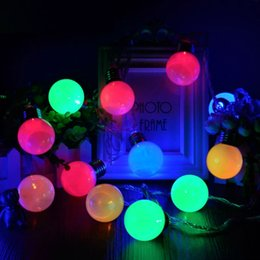 Discount Decorative Trees For Living Room Wholesale  1X 4M 20LED Ball  Shaped LED String Light