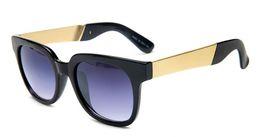 Legging mixed online shopping - Classic retro sunglasses fashion sunglasses wild brand designer sunglasses for men and women Round Sun Glass Metal legs