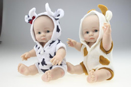 $enCountryForm.capitalKeyWord Canada - 8 Inches Collectible Twins Reborn Baby Doll Full Silicone Vinyl Babies Dolls That Look Real Children Birthday Holiday Gift